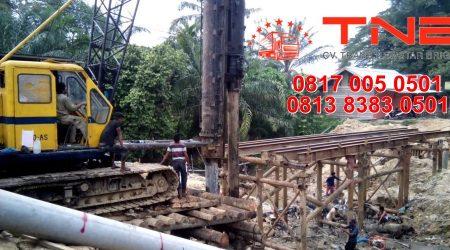 Jasa Pemancangan Tiang Pondasi Jembatan - Kontraktor & Operator Piling